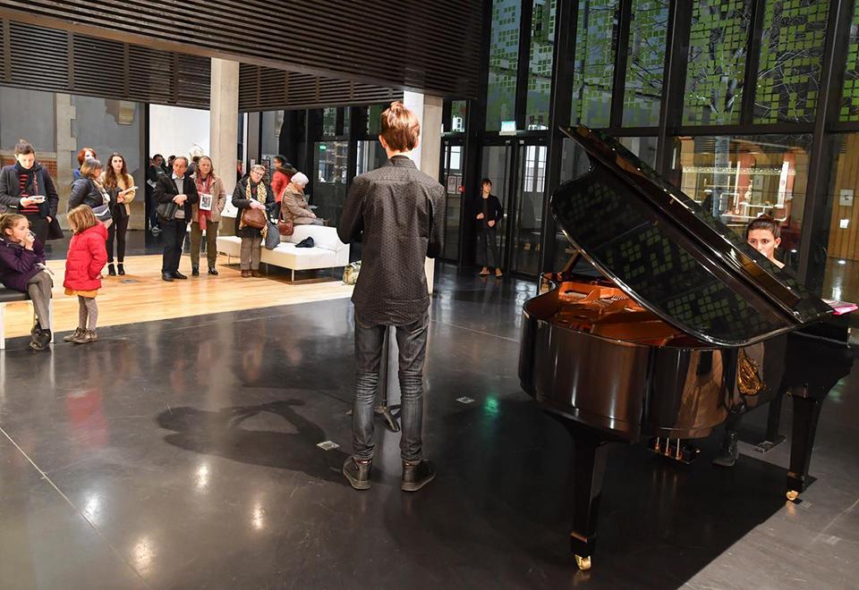 Promenade musicale au Musée d'Agesci