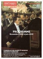 Programme du conservatoire novembre 2018 / juin 2019