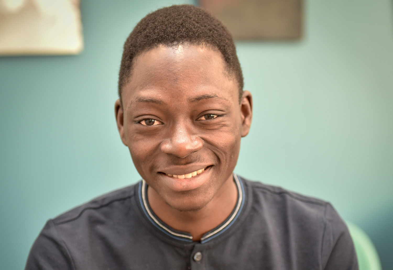 William Avoce, du Bénin