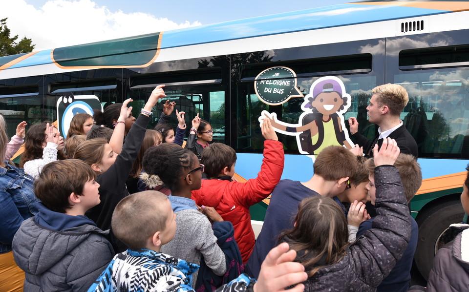 Bus pédagogique