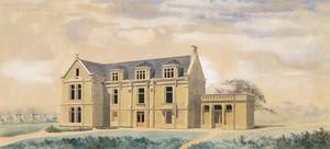 s,  projet de restauration d'une maison de campagne à Niort pour M. Deville,