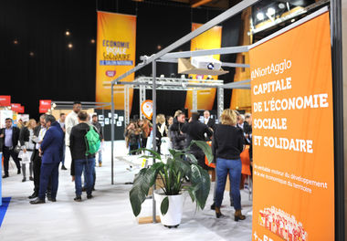 Salon national de l'ESS 2016 à Niort