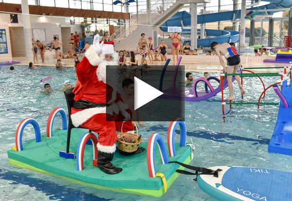 Noel les pieds dans l'eau