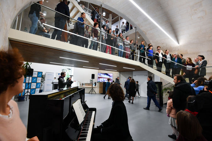 Inauguration du conservatoire Auguste Tolbecque