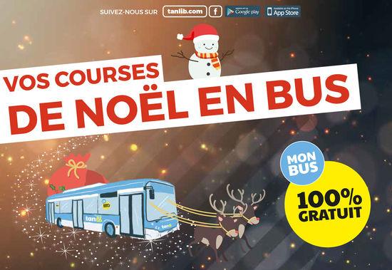 Vos courses de Noël en Bus