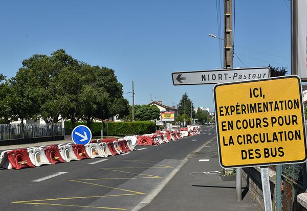 Avenue pasteur à Niort
