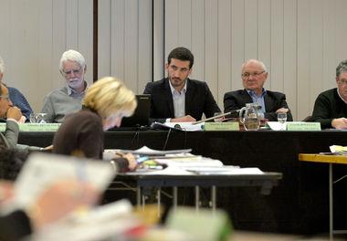 Séance d'un conseil d'agglomération du Niortais
