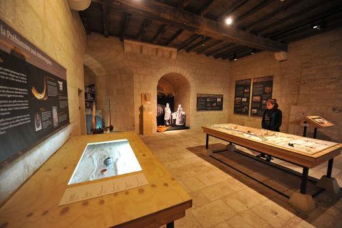 Musée du Donjon, salle histoire