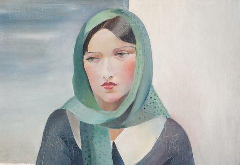 Portrait de Dora Maar par Marianne Clouzot (huile sur toile)