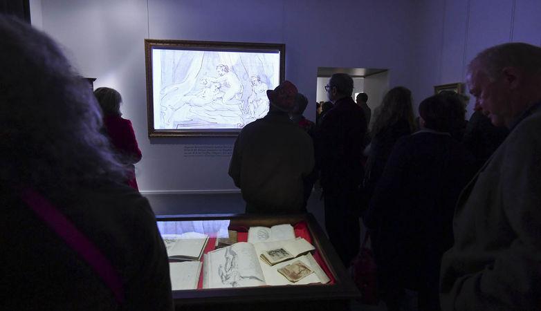 Inauguration de l'exposition Bernard d'Agesci - Les carnets de dessin ©Darri