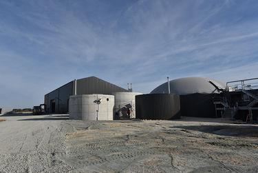 L'usine de méthanisation de Déméter Energies Photo Bruno Derbord