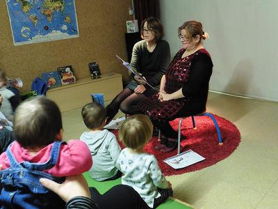 Médiathèque centrale Pierre-Moinot, bébés lecteurs