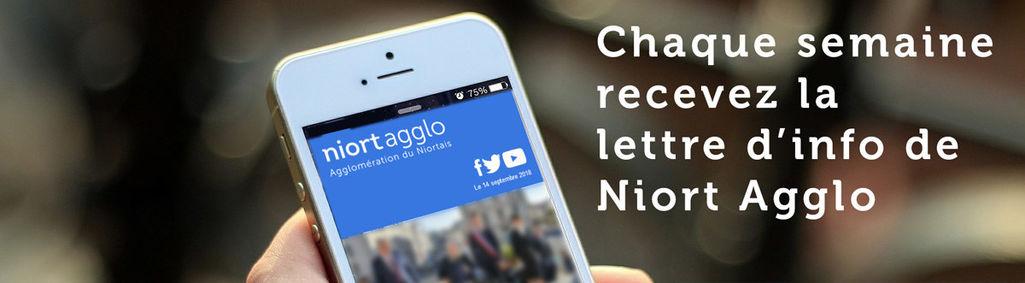Lettre d'information de Niort Agglo
