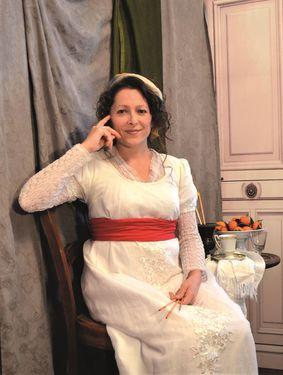 Stéphanie Roumegous interprète Elisabeth Vigée Lebrun