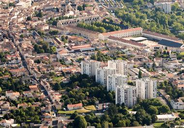 Quartier prioritaire du Pontreau © Reflex Haut