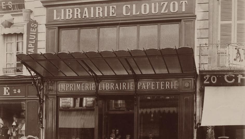 Librairie Clouzot, 22 rue Victor Hugo à Niort ©DR