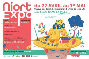 Affiche de Niort Expo 2019