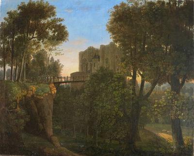 Le Donjon de Niort d'après Benjamin Delavault, Musée Bernard d'Agesci