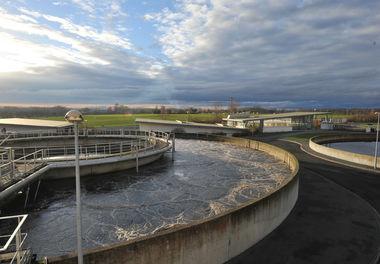 Station d'épuration de Goilard à Niort © B.Derbord