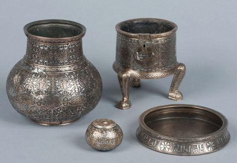 Accrochage : Cinq objets de la collection Piet-Lataudrie