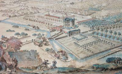 Plan d'embellissement du jardin du Château de la Mothe-Saint-Heray