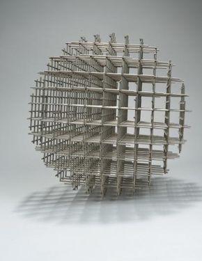 Sphère-trames, François Morellet, 1962, Musée d'art et d'histoire, Cholet ©Communauté d'Agglomération du Niortais