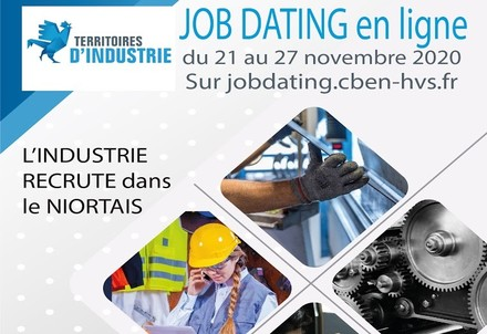 illustration de la manifestation Job dating spécial industrie