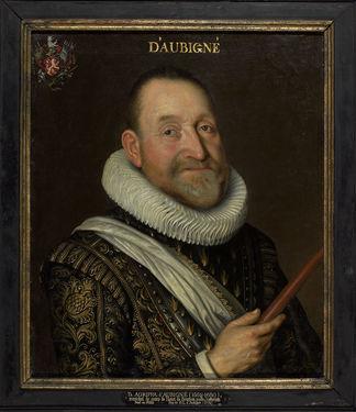 Théodore Agrippa d'Aubigné ©Bibliothèque de Genève