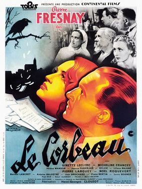 """Affiche du film """"Le Corbeau"""""""