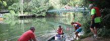 Départ d'une randonnée canoë à la journée ©Sylvie Méaille