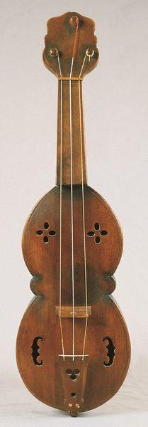 Vihuèle (vièle à archet), par Auguste Tolbecque