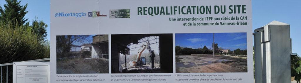 Aménagement d'un complexe touristique au Vanneau Irleau © B Derbord