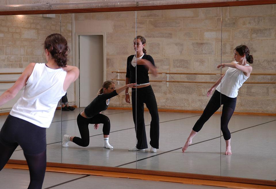 Studio de danse, avant les travaux ©DR