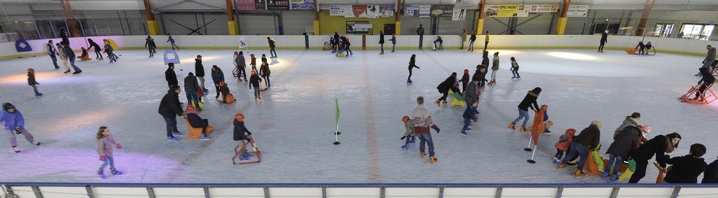 Un dimanche matin à la patinoire