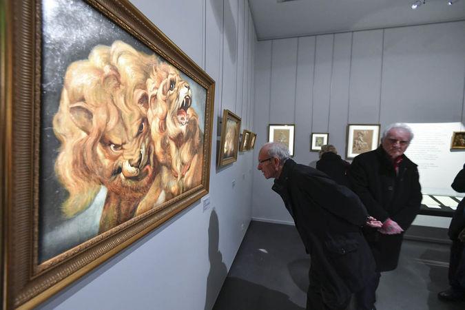 Inauguration de l'exposition Bernard d'Agesci - Le bestiaire ©Darri
