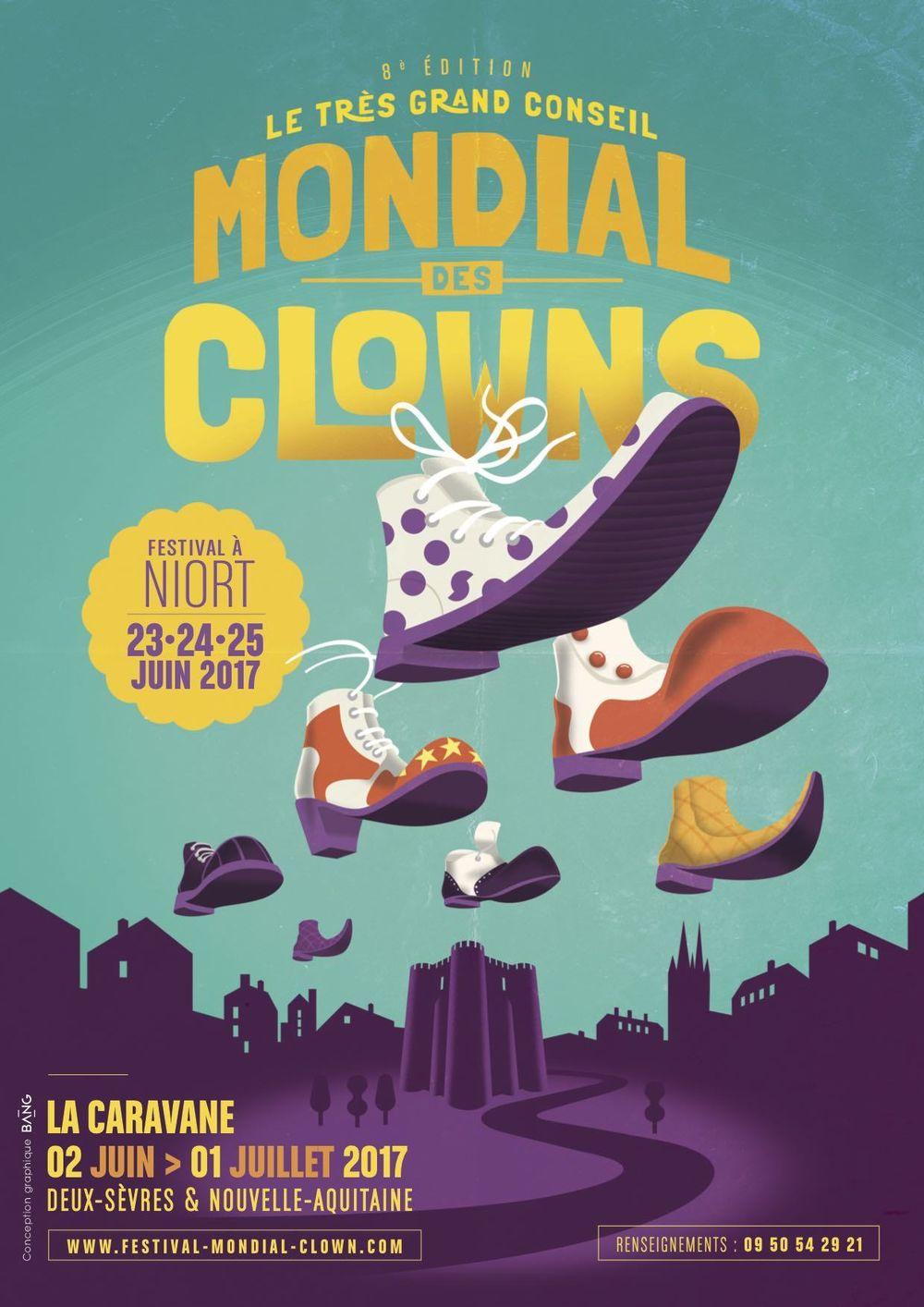 La caravane du tr s grand conseil mondial des clowns for Foire de niort 2017