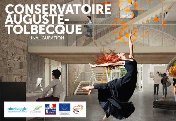 Inauguration du conservatoire