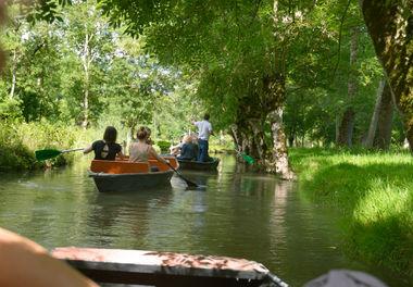 Promenade en barque sur la Sèvre niortaise à Coulon © Darri
