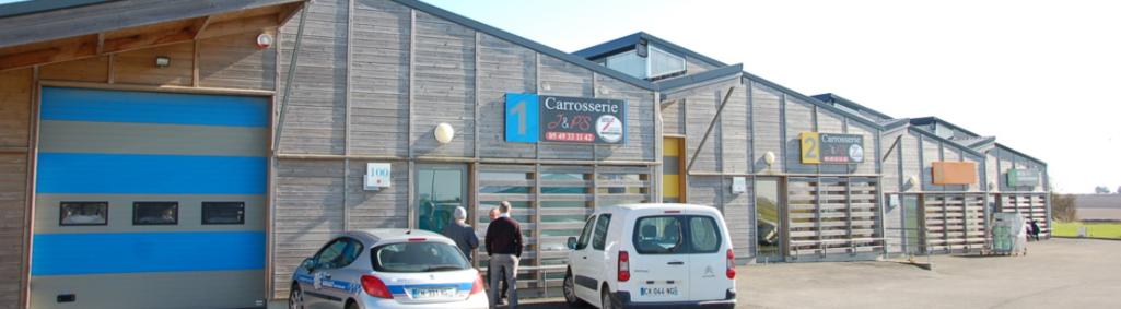 Ateliers relais, ZAE Le Luc-Les Carreaux (Echiré, Saint-Gelais)