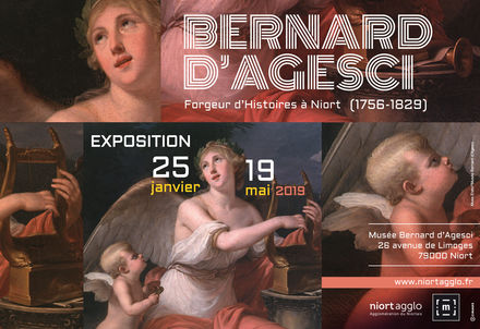 illustration de la manifestation Expo : Bernard d'Agesci, Forgeur d'Histoires à Niort