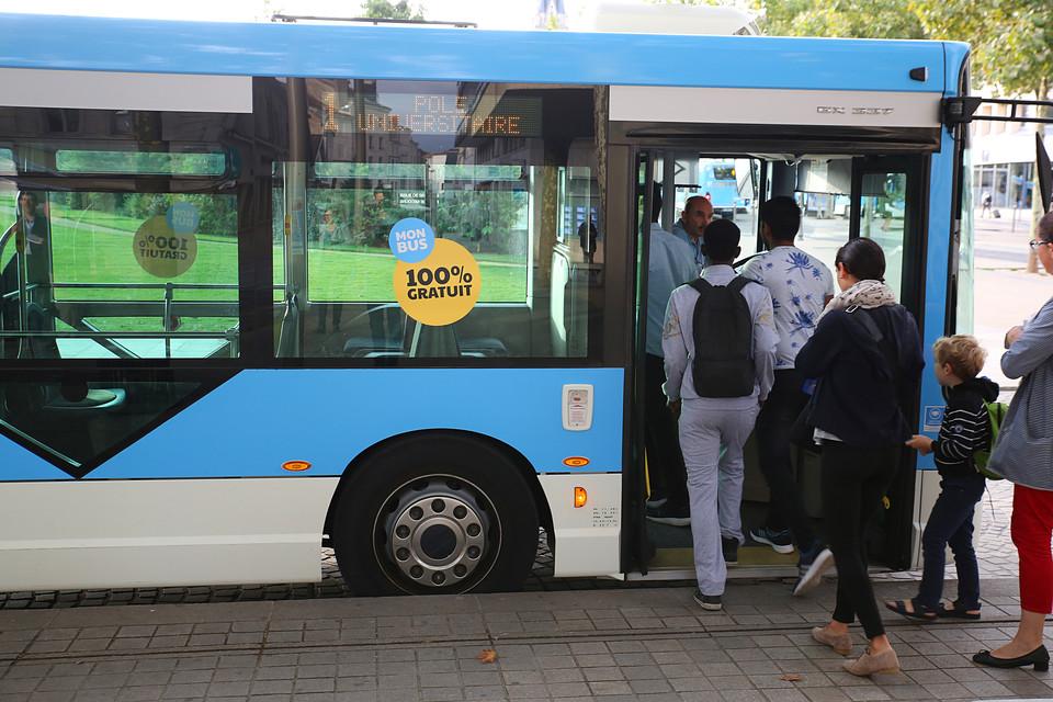 Hausse de fréquentation dans les bus de Niort Agglo
