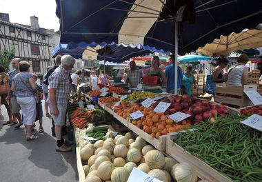 Au marché de Niort