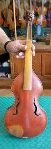 Instrument hybride avec dessus de viole, atelier d'Auguste-Tolbecque