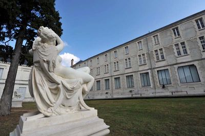 Jardin du musée Bernard d'Agesci : Somnolence par Frédéric-Etienne Leroux