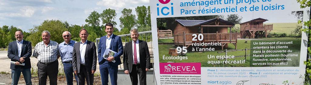 Parc résidentiel de loisirs au Vanneau-Irleau