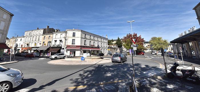 Quartier de la gare de Niort ©Bruno Derbord