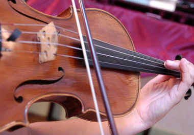 Auditions d'élèves, clavier violon © CAN
