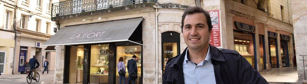 Guillaume Cassé, le nouveau manager de centre-ville recruté par Niort Agglo © Bruno Derbord