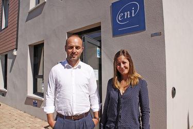 Baptiste Loirat et Margot Bugnot de l'ENI-Niort ©Sylvie Méaille