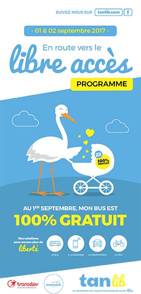 Deux jours d'animations pour le lancement de la gratuité des bus : 1er et 2 septembre